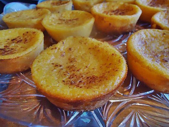 Queijadas de abóbora e canela | Sobremesas de Portugal