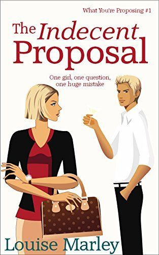 The Indecent Proposal: (Short Story) by Louise Marley: When Megan sees a photo of her rock star boyfriend Ryan with another girl, she dumps him and heads off to Sorrento on holiday. Unfortunately Ryan's had exactly the same idea…   The Indecent Proposal is an 8,000 word short story which should take about thirty minutes to read. It is a romantic comedy.  http://www.amazon.com/dp/B00L4L9H58/ref=cm_sw_r_pi_dp_42QQtb1DNYGY1