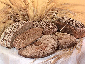 This is the best bread in the world - Finnish dark rye bread made with sourdough. The health benefits are amazing and the taste unbeatable. The Finnish version is not sweet like the Swedish, and the taste is so good you can eat it just as it is... but it also works beautifully as the base for the good and tasty Finnish cheeses, sausages and meat products.