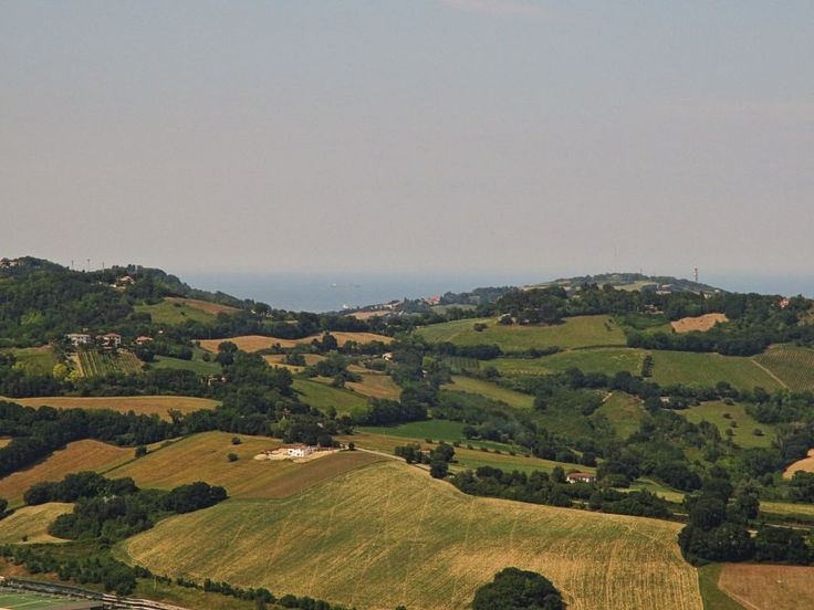 Offagna, Marche, Italy - Marchigian hills 1 by Gianni Del Bufalo CC BY-NC-SA img_8291 - Colline marchigiane