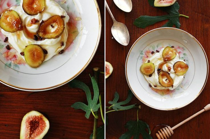 Caramelized Figs & Yogurt recipe on Food52