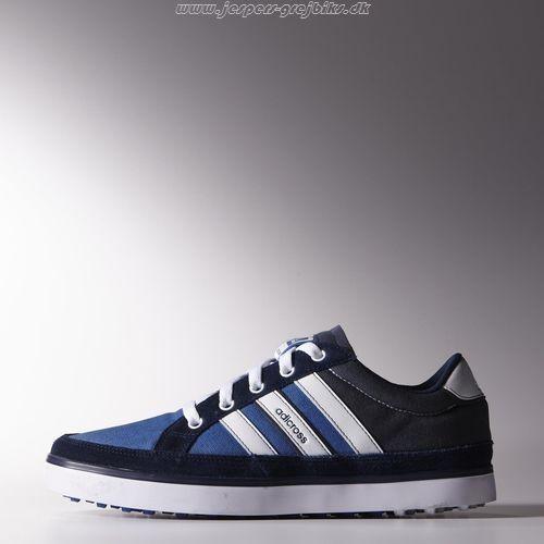 Bedst Adidas Golf adicross 4 WD sko - Blå - Mænd Sko