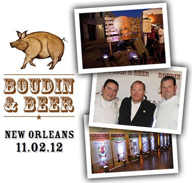 Win a FREE Trip to New Orleans for Boudin and Beer on November 2nd!: Food Favorite, Recipe Favorites