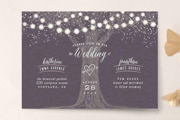 11 Lush Summer Wedding Invitation Ideas