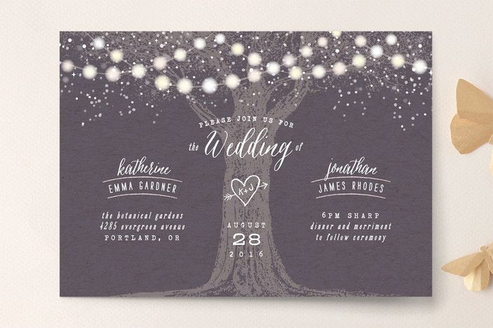 11 Lush Summer Wedding Invitation Ideas