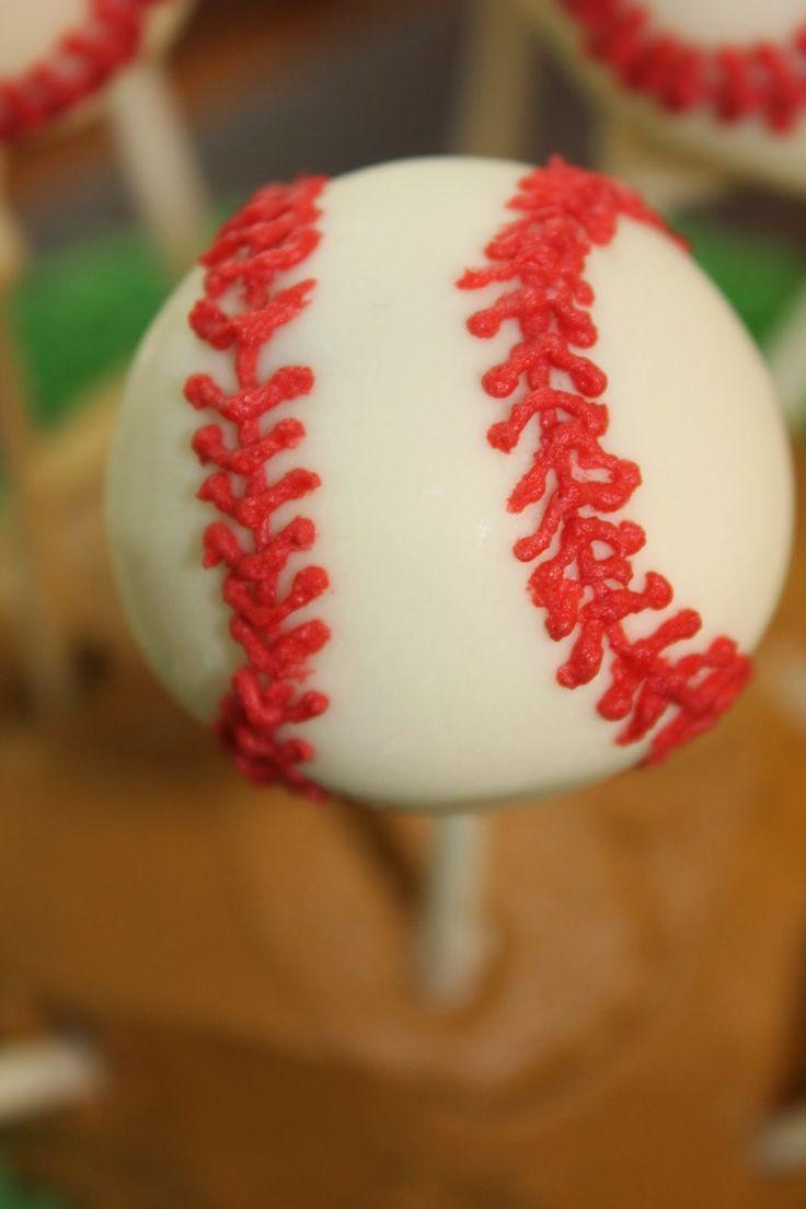 25 Best Ideas About Baseball Cake Pops On Pinterest