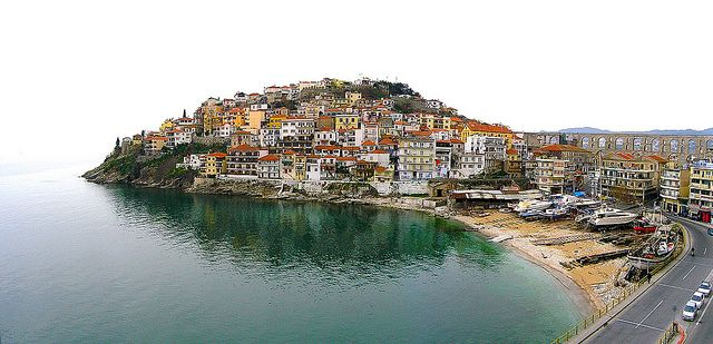 Kavala - Panagia and Kamares by Visit Greece, via Flickr