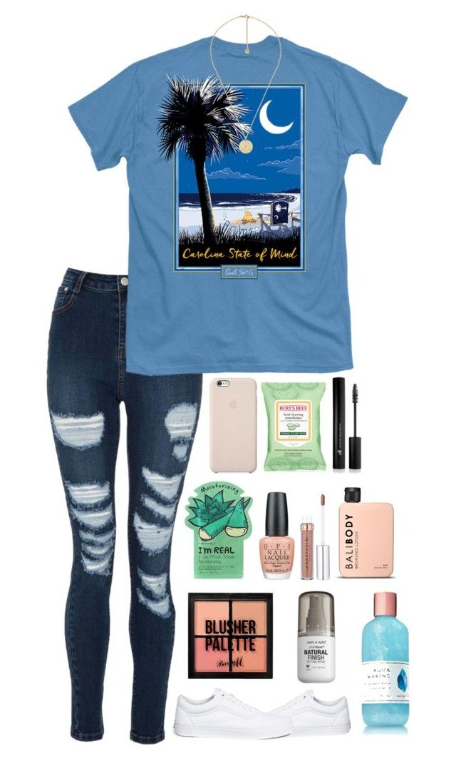 """Hungry "" by kindaval ❤ liked on Polyvore featuring Burt's Bees, Gucci, TONYMOLY, Vans, Forever 21, OPI and Barry M"