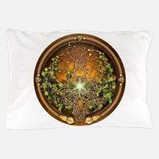 Sacred Celtic Trees - Vine Pillow Case for