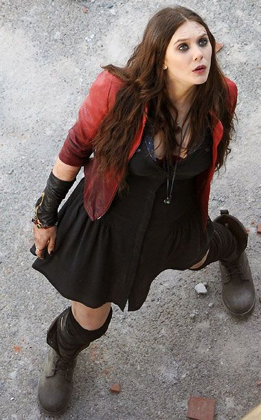Scarlet Witch. Avengers: Age of Ultron.