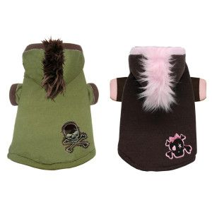 Hip Doggie Mohawk Hoodie for Dogs - Clothing & Accessories - Dog - PetSmart