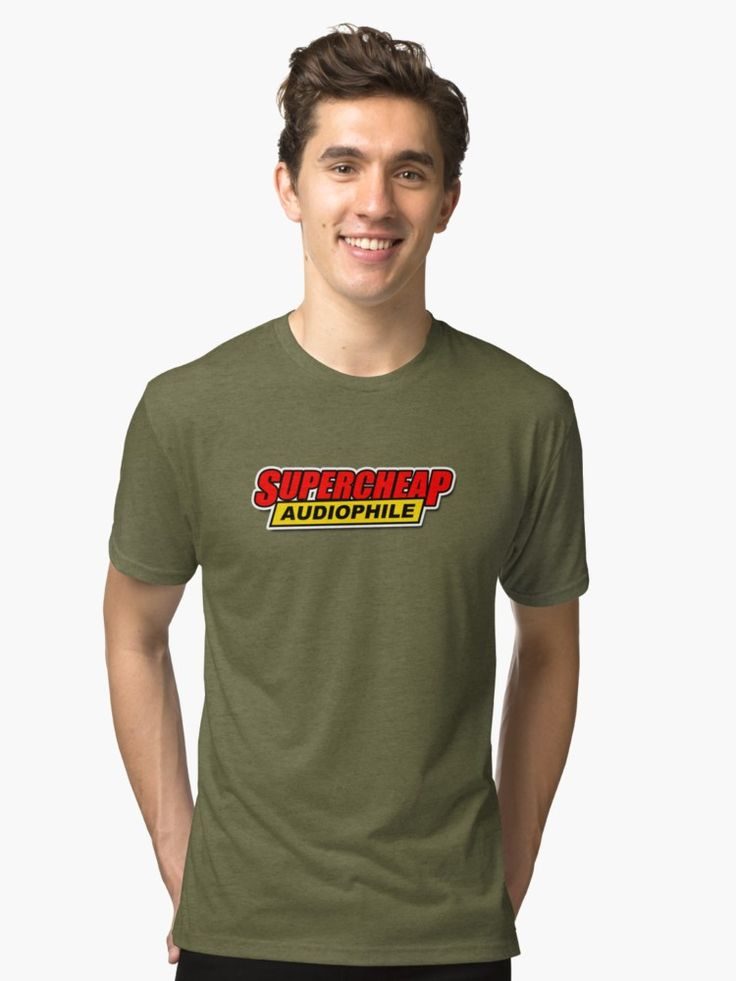 Supercheap Audiophile Tri-blend T-Shirt