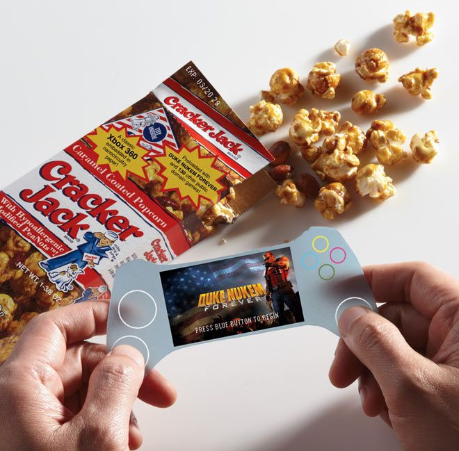 Could this be the Cracker Jack prizes of the future? Geeks theorize what future prizes may be.
