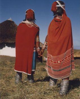 "Africa | Taken from the publication ""The Xhosa - and their traditional way of life"" by Aubrey Elliot"