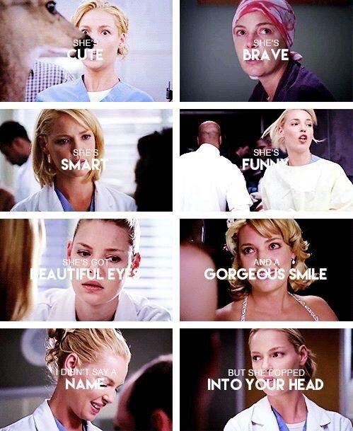 Grey's Anatomy || Izzie Stevens