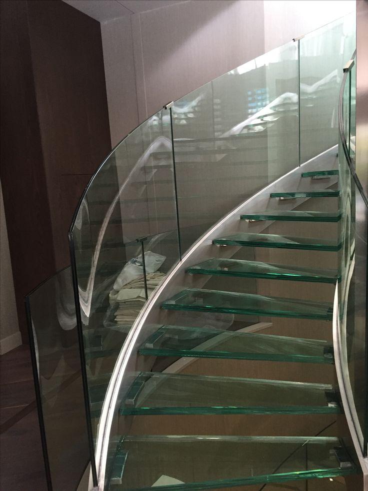 Lighting Basement Washroom Stairs: 25+ Best Handrail Ideas On Pinterest