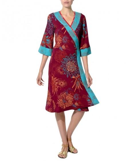 Maya Prass_Printed Honey Bunch Wrap Dress