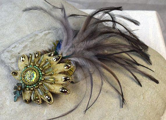 Hey, I found this really awesome Etsy listing at https://www.etsy.com/au/listing/206729138/flapper-hair-piece-gatsby-headpiece