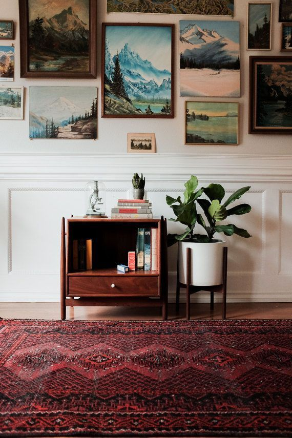 Cool vintage gallery wall