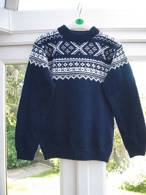 Ravelry: Project Gallery for 0-816 Jumper with Norwegian pattern pattern by DROPS design