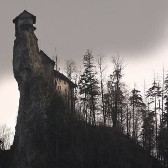 """An abandoned house within the vicinity of the Bell Witch Caves in Adams, Tennessee, USA. The photographer clearly states it is not the actual """"Bell Witch House"""" of folklore.  https://www.facebook.com/CaretakersParanormalInvestigations"""