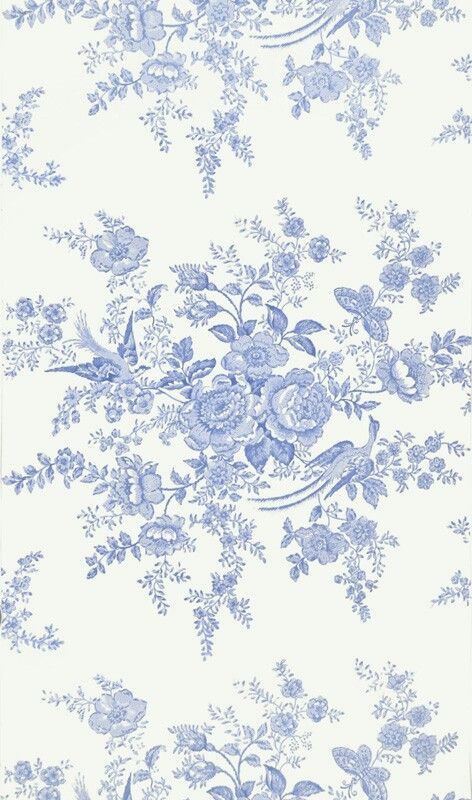Svensk blå blomst 8