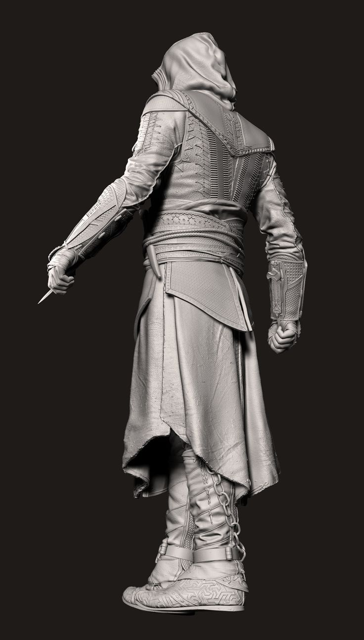 ArtStation - Assassin's Creed: Aguilar McFarlane Toys , Marcellus Barnes 2