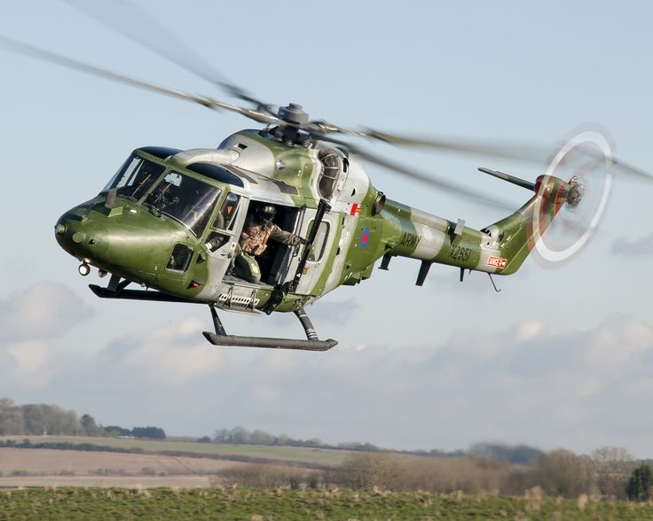 British Army Lynx AH7