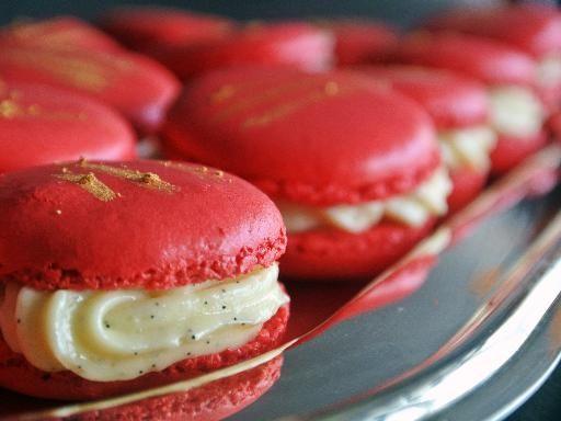 Macarons à la vanille - Recette de cuisine Marmiton : une recette