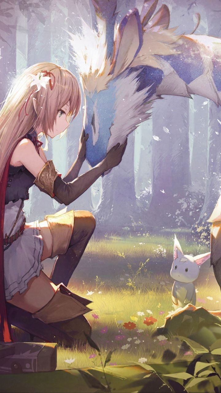 Shadowverse Blonde Anime Girl Wallpaper Video Game Wallpapers Pinterest Blonde Anime Girl Anime And Wallpaper