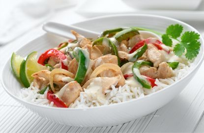 Philly Thai Green Chicken Curry