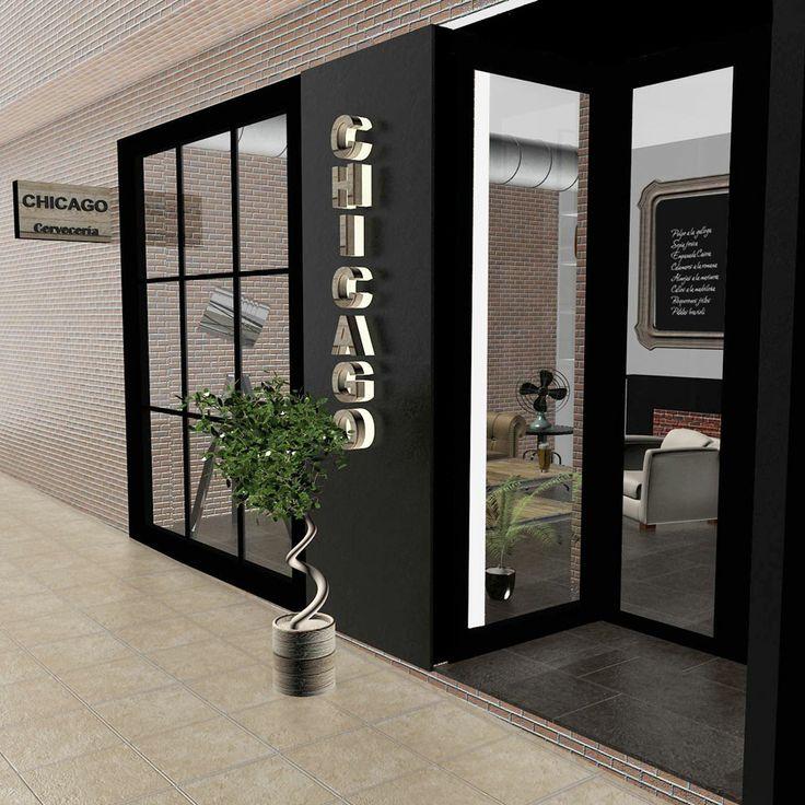 Proyecto de interiorismo bar vintage 150 m2 madrid - Interiorismo en madrid ...