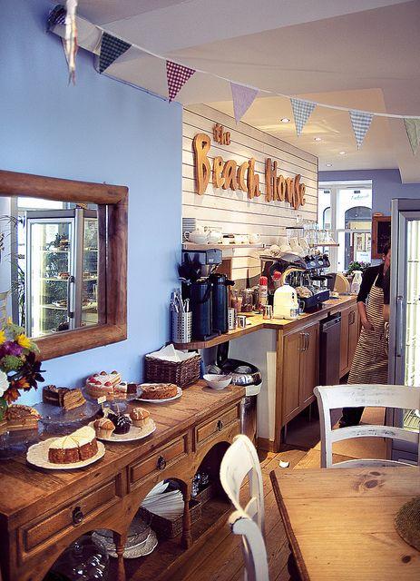 Favourite beach-side coffee shop. The Beach House cafe, Portobello.