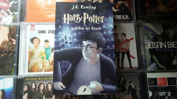 Harry Potter y la orden del fénix (J.K Rowling)