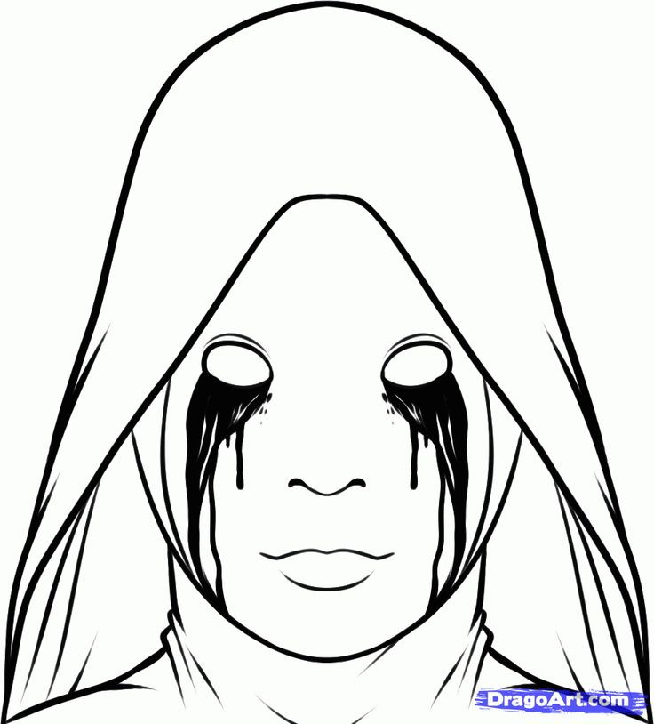 Horror Coloring Pages - Bing Images   Printables ...
