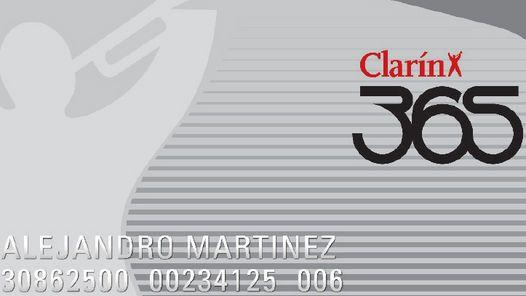 tarjeta clarin365 - Buscar con Google