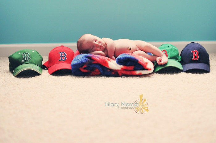 This isn't superman - but still supercute redsox picture!!!