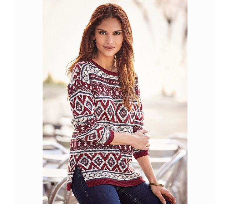 Pulovr se vzorem | modino.cz  #modino_cz #modino_style #style #fashion #newseason #autumn #fall