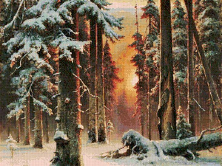 лес, предпросмотр
