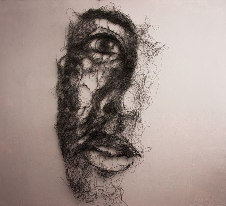 Wire Sculpture by Tasos Konstantinopoulos
