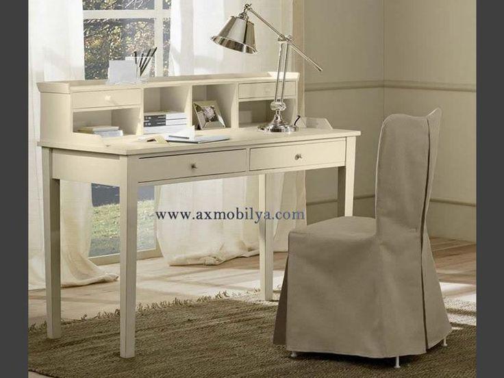 Beyaz Çalışma Masaları AX10196 - Workistan Mobilya; #unpoo #furniture #workistan #masif #ahşap #mobilya #butik #imalat