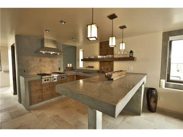 Concrete Kitchen- Check