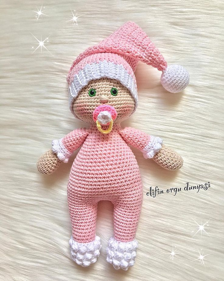 """499 Likes, 6 Comments - Daily doll pics 2 inspire you (@1000crochetdolls) on Instagram: """"Handmade by @elifin_orgu_dunyasi """""""