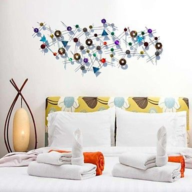 bellabello®metal kunst aan de muur muur decor, antieke stijl abstracte cirle smeedijzeren muur decor – EUR € 298.89