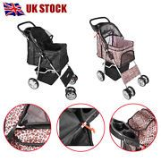 Look what I just bought on eBay: Panana Pet Dog Puppy Cat Travel Stroller Pushchair Jogger Buggy Swivel 4 Wheels