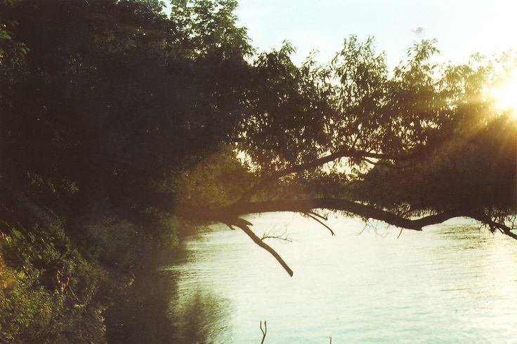 river, landscape, zenit