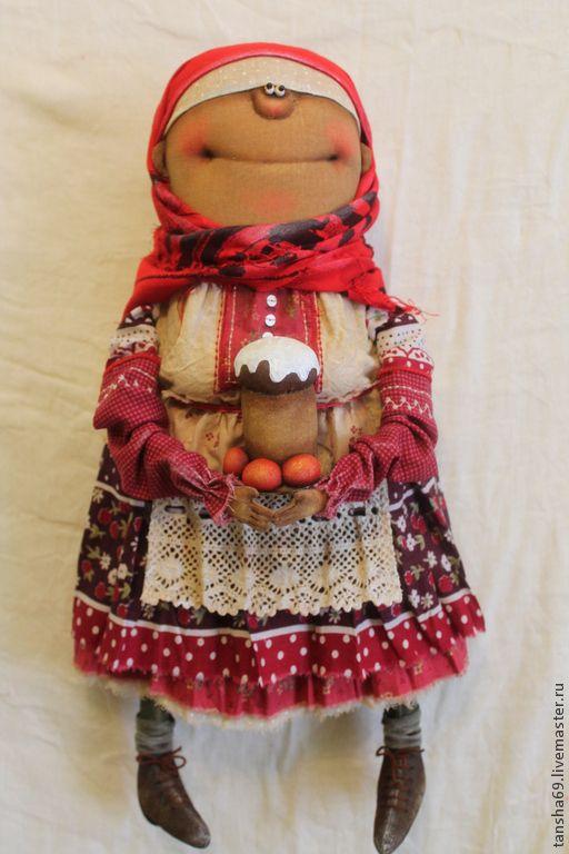 Пасха - разноцветный,примитивная кукла,текстильная кукла,ароматизированная кукла