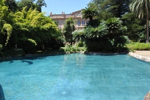 What do you think of the lagoon style pool at Villa Tasca? Available for holidays this summer.