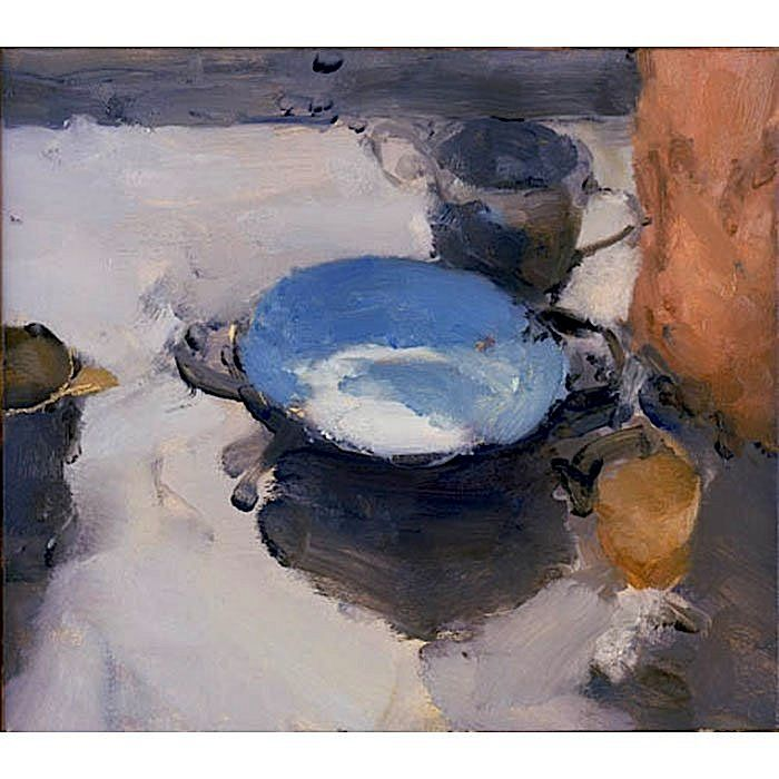 Jordan Wolfson: Still Life with Turquoise Bowl