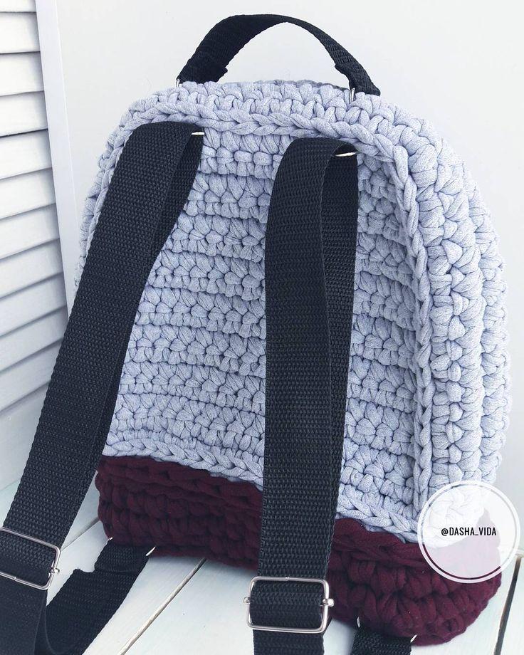 Вид сзади. Рюкзак очень плотный, хорошо держит форму. Размеры: 30см высота, 25 см ширина, 10 см глубина Рюкзак в наличии. Можно заказать в любых цветах, по вашему желанию ▫100% хлопок ▫ Стирка 30° ▫ Цвета и размеры на любой вкус . . #crochetaddict #handmade #хендмейд #knitting #knit #crochetbackpack #crochet #instacrochet #рюкзак #backpack #своимируками #вяжутнетолькобабушки #вязание #ilovecrochet #вязаныйрюкзак #вязанаякорзина #длядевушек #crocheting #crochetbag #тпряжа #tra...
